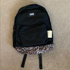 •BRAND NEW•  2019 VS PINK CHEETAH PRINT BACKPACK